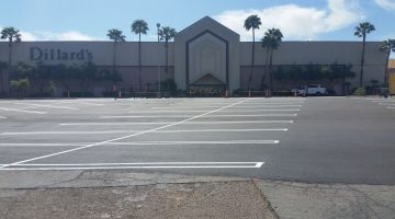 Tucson Mall paving